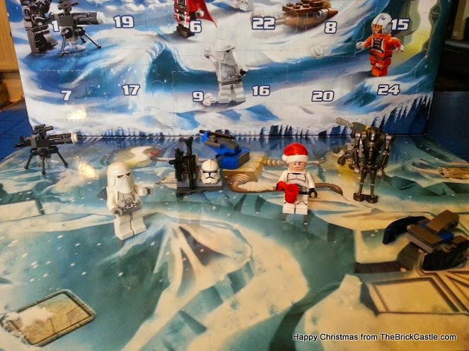 The LEGO Star Wars Advent Calendar Dec 8th trooper in scenery