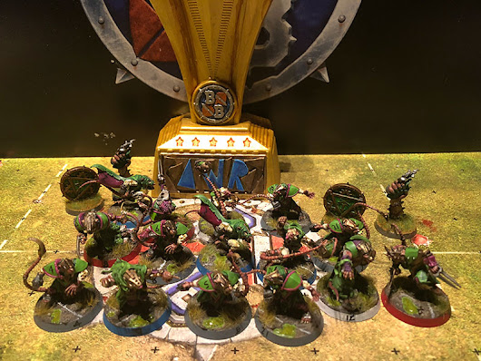 Nghit Sorg VS Autopsy Table 2-0 AWR CUP Blood Bowl
