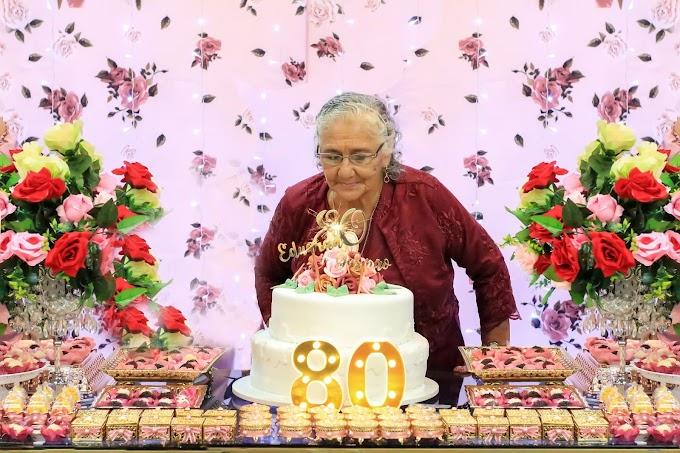 Comemoração do Aniversário da Dona Dadá