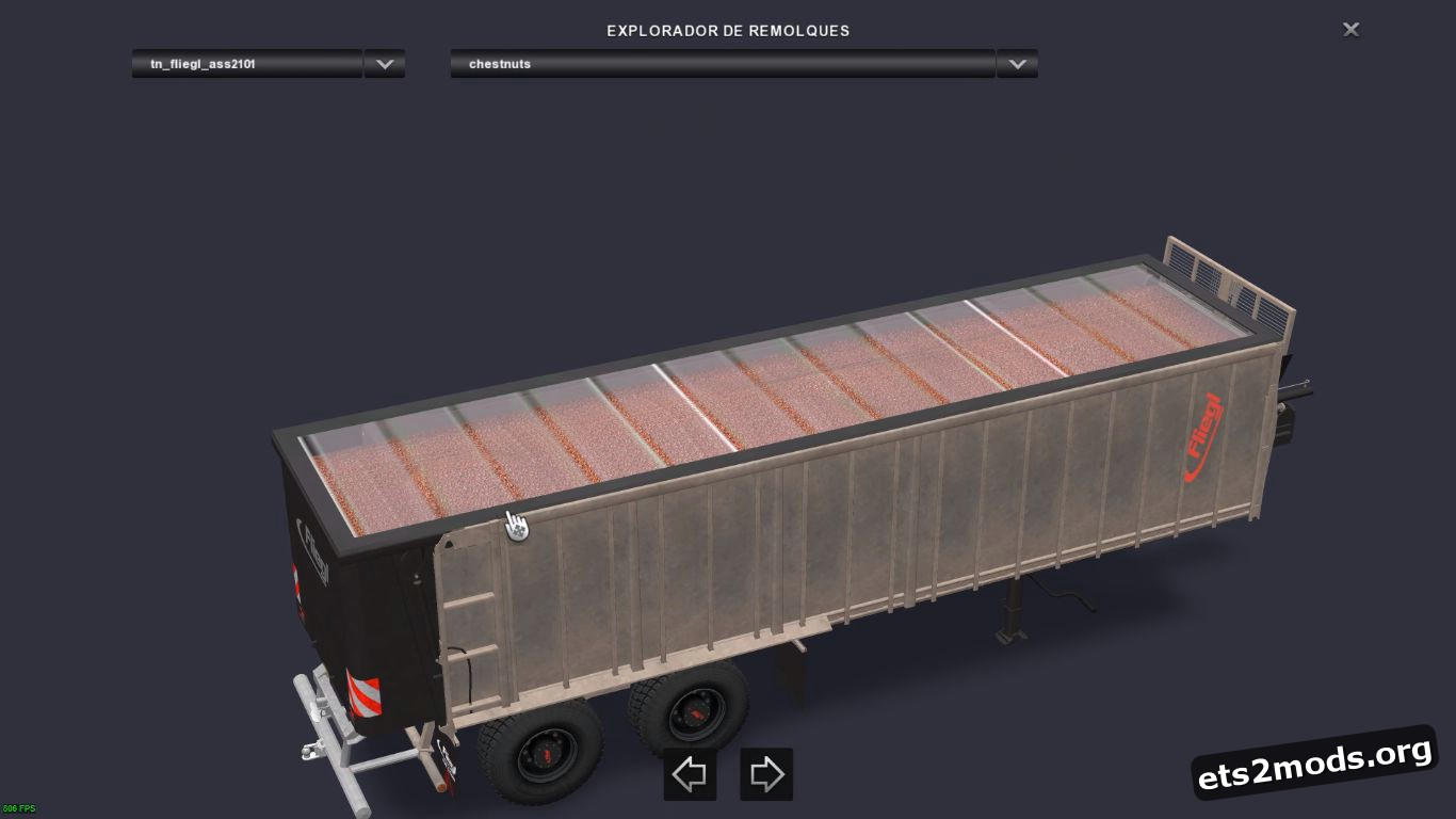 Standalone Trailer Fliegl ASS-2101 from FS17