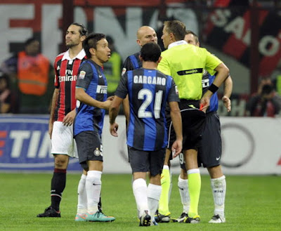 Ingin Geser Milan, Inter Harus Menangkan Derby !!