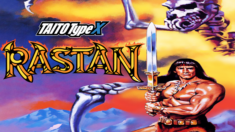 Rastan Saga Arcade Dump