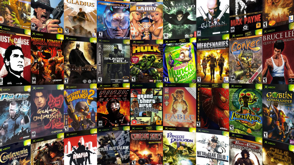 Copy Paste ISOs y Roms: XBOX Original Collection | NTSC/PAL | YANDEX