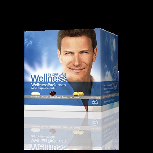 Thực phẩm chức năng WellnessPack man dành cho nam_22793 Oriflam