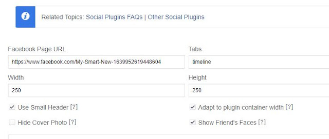 How to add FIND US ON FACEBOOK