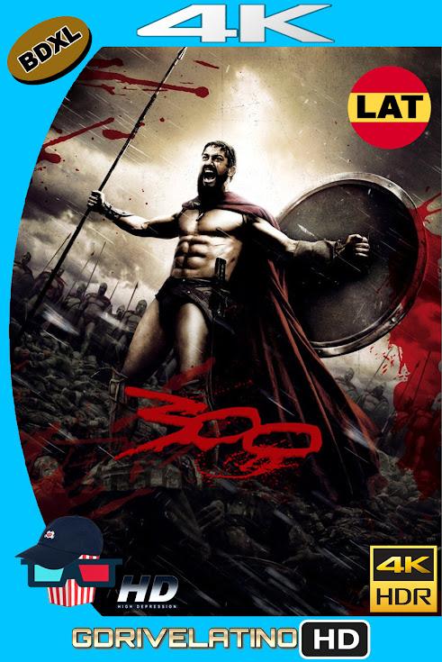 300 (2006) BDXL 4K UHD HDR Latino-Ingles ISO