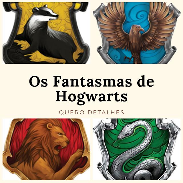 Fantasmas de Hogwarts