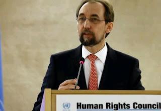 ο ύπατος αρμοστής του ΟΗΕ για τα ανθρώπινα δικαιώματα