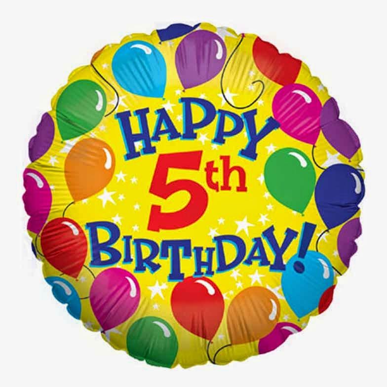 Auguri Buon Compleanno 5 Anni.Il Libro Eterno Buon Compleanno Blog 5 Anni