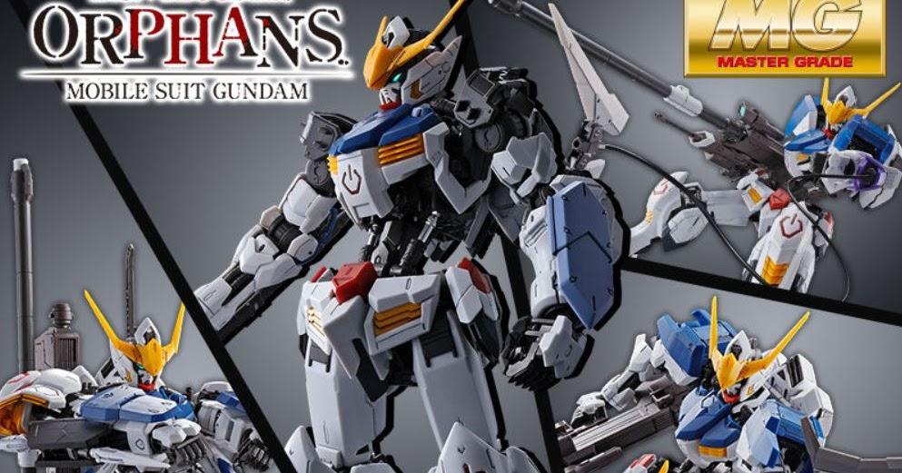 P Bandai Mg 1 100 Gundam Barbatos Expansion Set Release Info Gundam Kits Collection News And Reviews