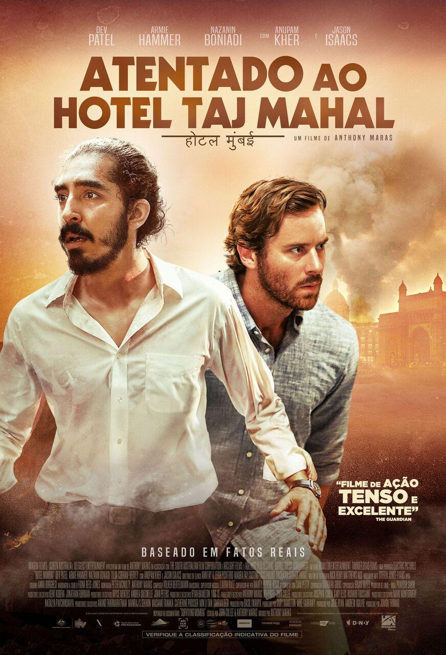 Capa do Filme Atentado ao Hotel Taj Mahal