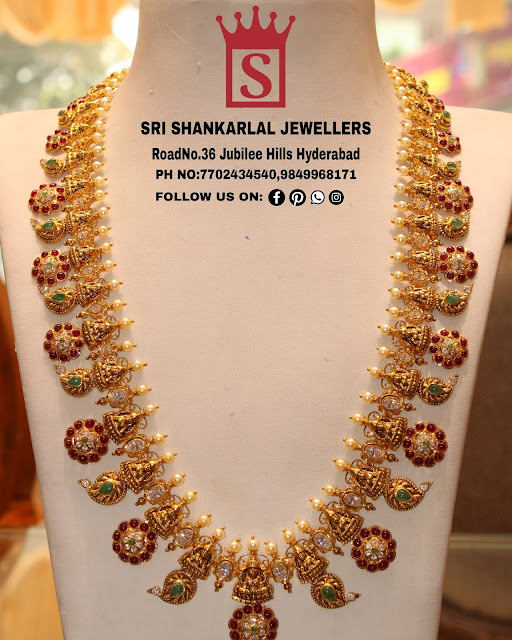 Mango Bottu Mala by Shankarlal Jewellers