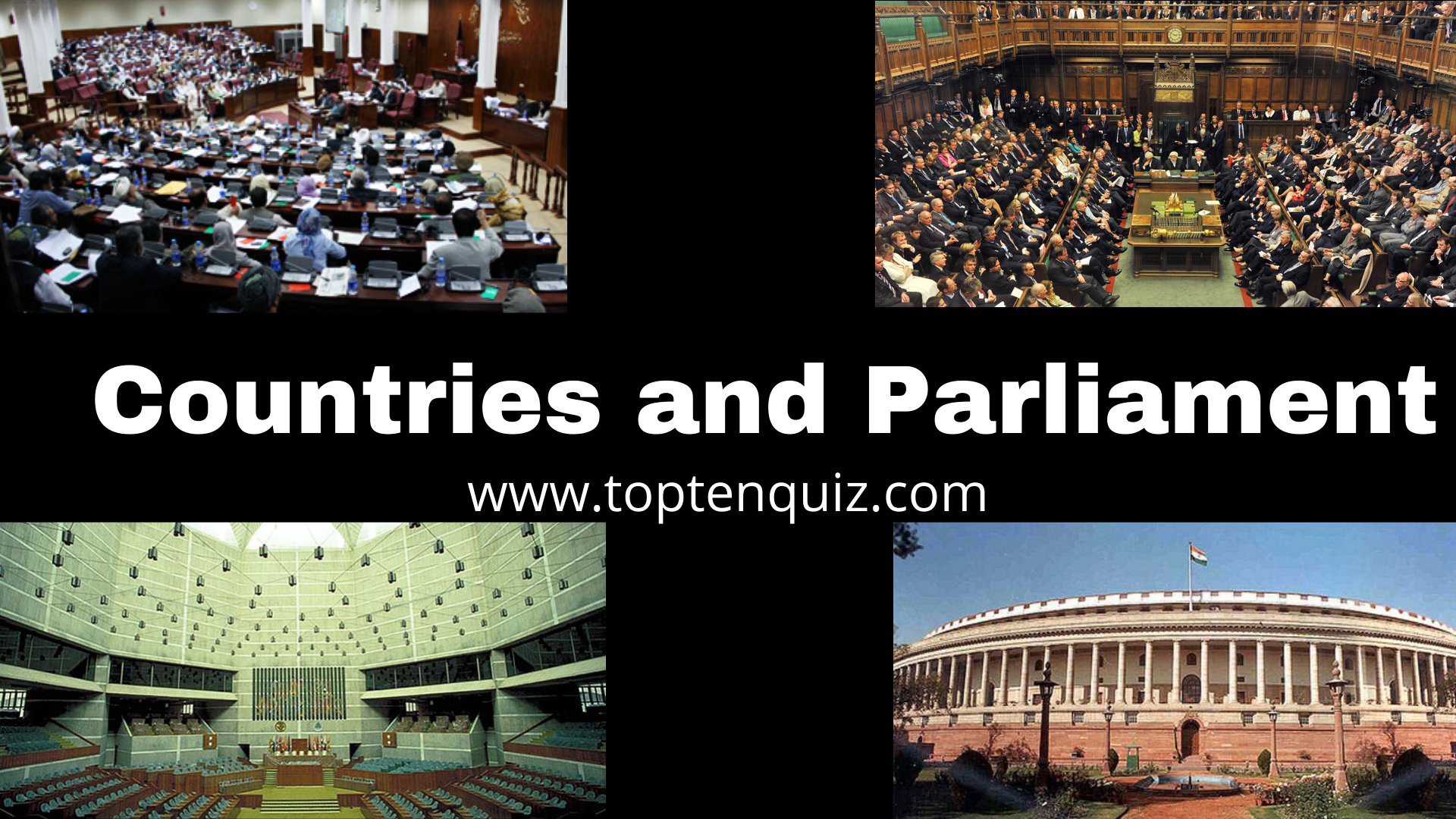 Countries and Parliament Name