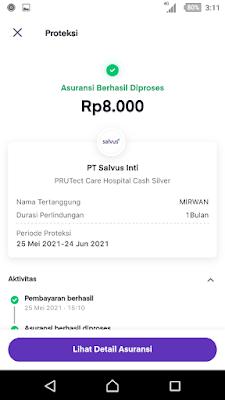 Asuransi Syariah PRUTect Care - Hospital Cash di OVO   Proteksi