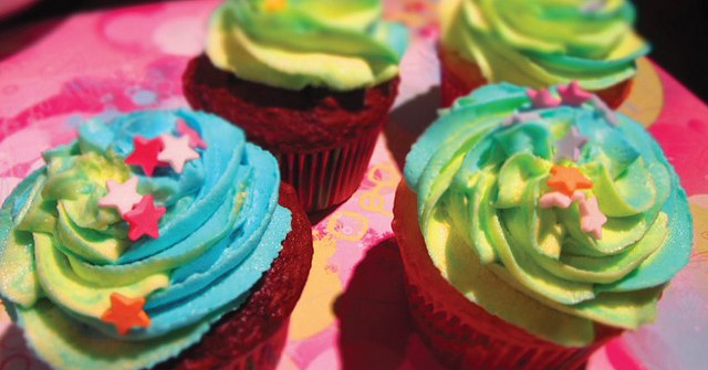 Fun dairy free cupcake buttercream idea