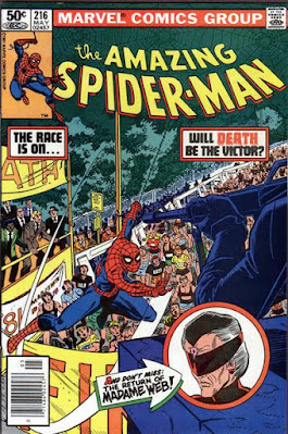 Amazing Spider-Man #216, Madame Webb