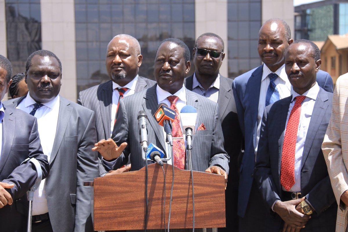 This Tweet By Raila Odinga Raises Lots Of Questions