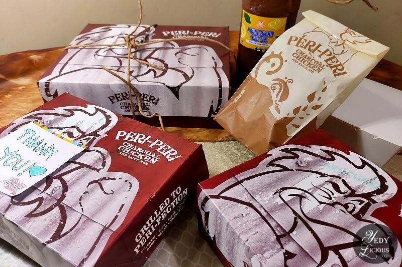 Peri-Peri Charcoal Chicken & Grill Philippines Menu