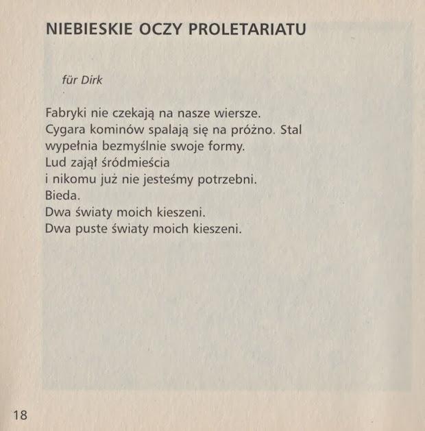 Krzysztof Jaworski Niebieskie Oczy Proletariatu