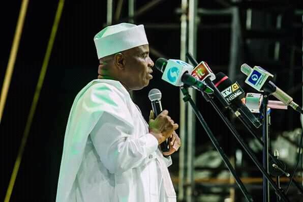 PDP ELECTIVE CONVENTION: Tambuwal Congratulates Atiku