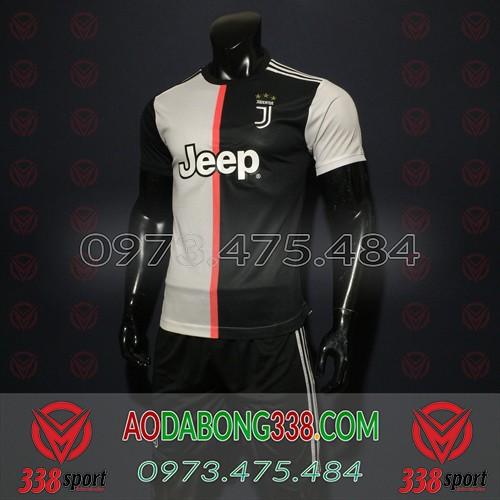 Áo Juventus Đen Trắng 2020 Sân Nhà
