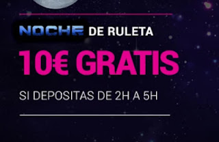 Goldenpark 10 euros gratis noche ruleta 2-3-2021