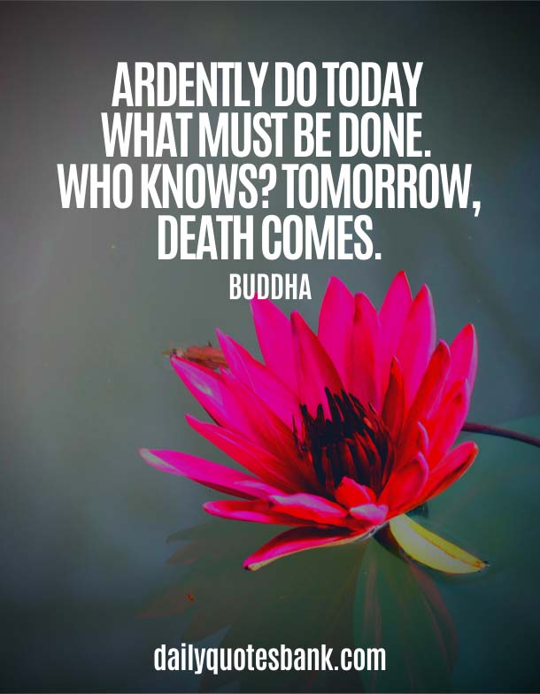 Buddha Quotes On Changing Yourself With Death