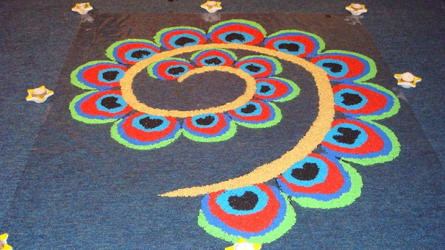 [*Latest*] Happy Diwali Rangoli Designs Images, Easy Designs Videos, Photos, Pictures {*New*]