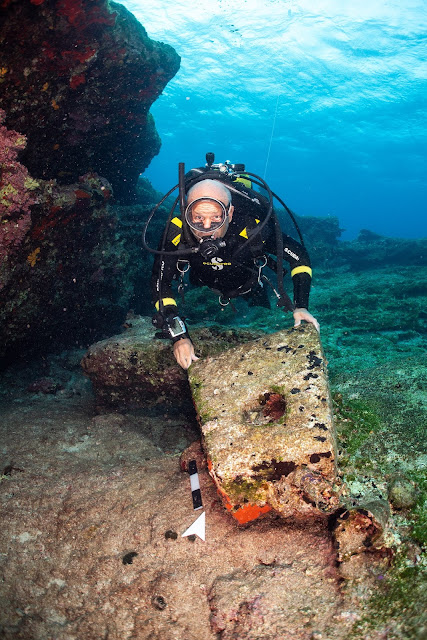 Three ancient shipwrecks discovered off Aegean island of Kasos
