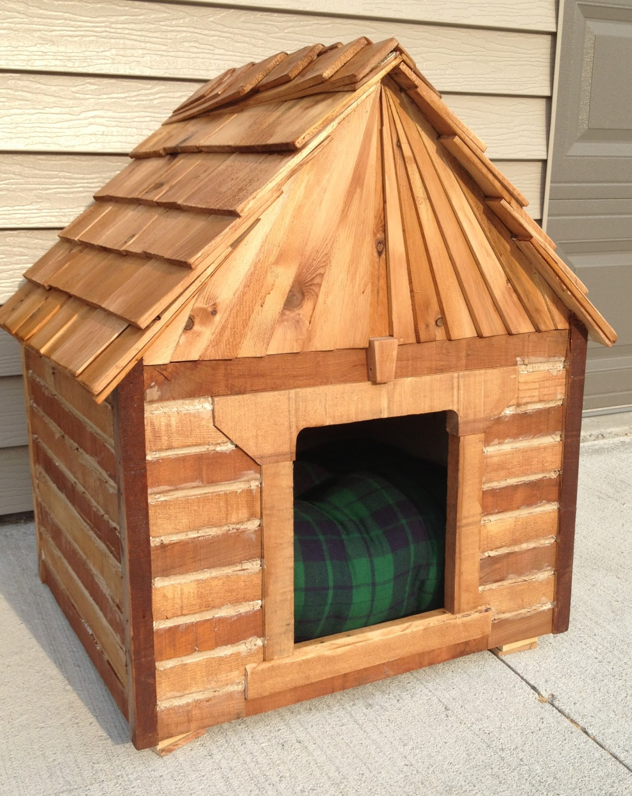 Build Your Own Cabin Dog House For Less Repurposed Building Materials Re Revive Renew