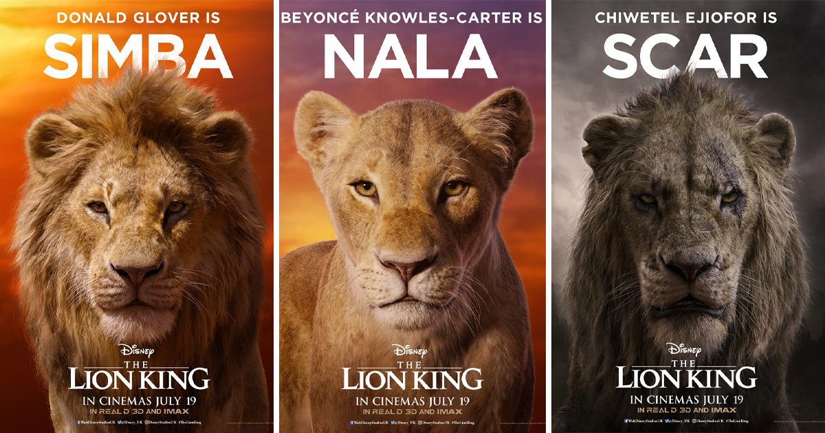 THE LION KING MOVIE REVIEW AND RATTING