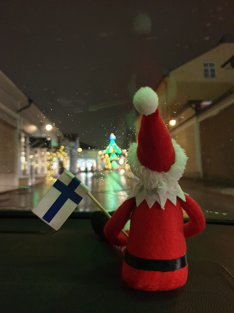 joulukalenteri, itsenäisyyspäivä, elf on the shelf
