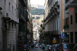 downtown naples italy