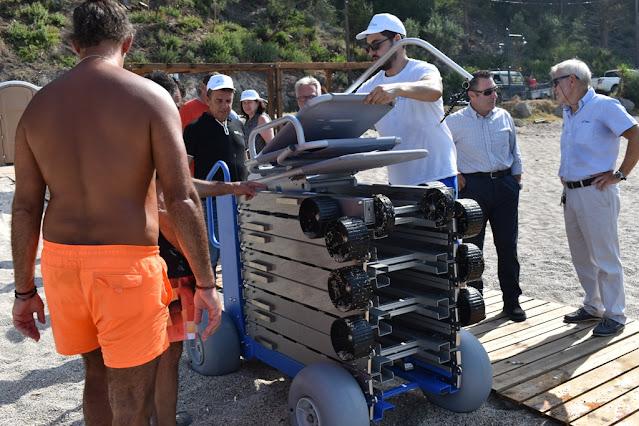 Την Παρασκευή 9 Ιουλίου 2021 διοργανώθηκε από το Δήμο Πάργας εκδήλωση με αφορμή την παραλαβή των προσβάσιμων υποδομών στην Παραλία Βάλτος. Από το φετινό καλοκαίρι, οι επισκέπτες και οι κάτοικοι του Δήμου Πάργας που αντιμετωπίζουν κινητικά προβλήματα, έχουν τη δυνατότητα να απολαύσουν τη θάλασσα, αυτόνομα χωρίς περιορισμούς στις παραλίες Βάλτος και Λούτσα του Δήμου Πάργας.