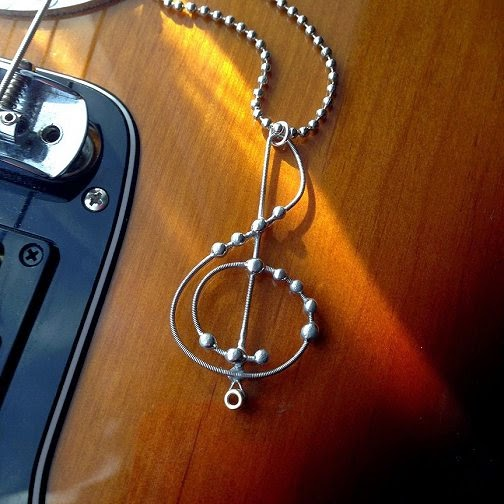 how to put on new guitar string