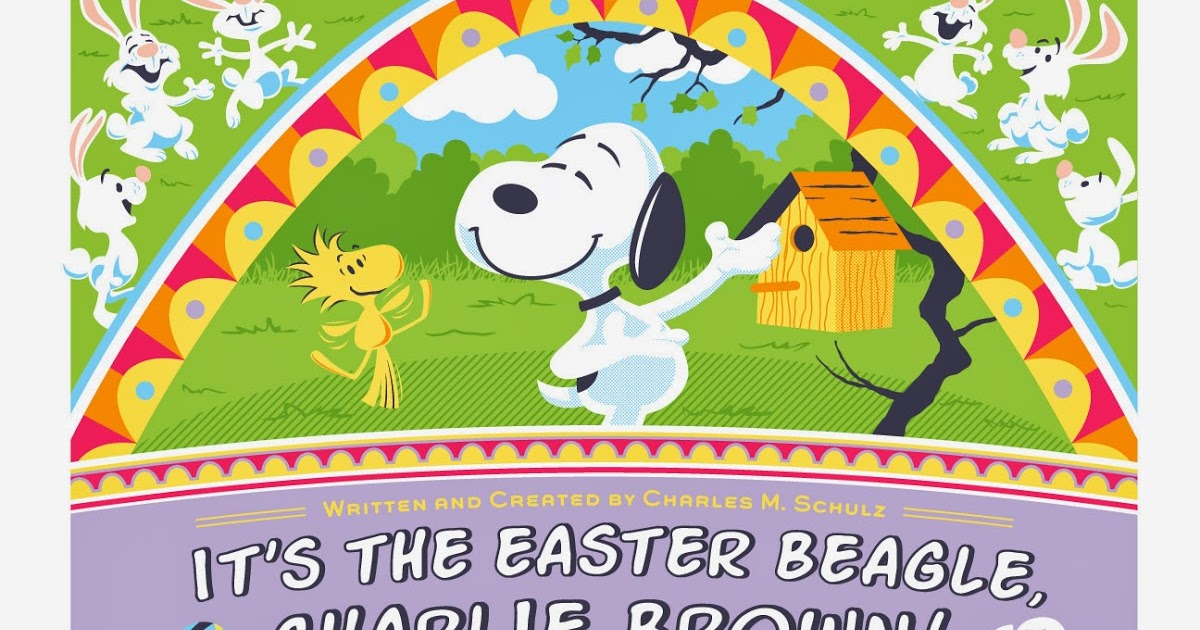 """The Blot Says...: """"It's the Easter Beagle, Charlie Brown!"""" Peanuts ..."""