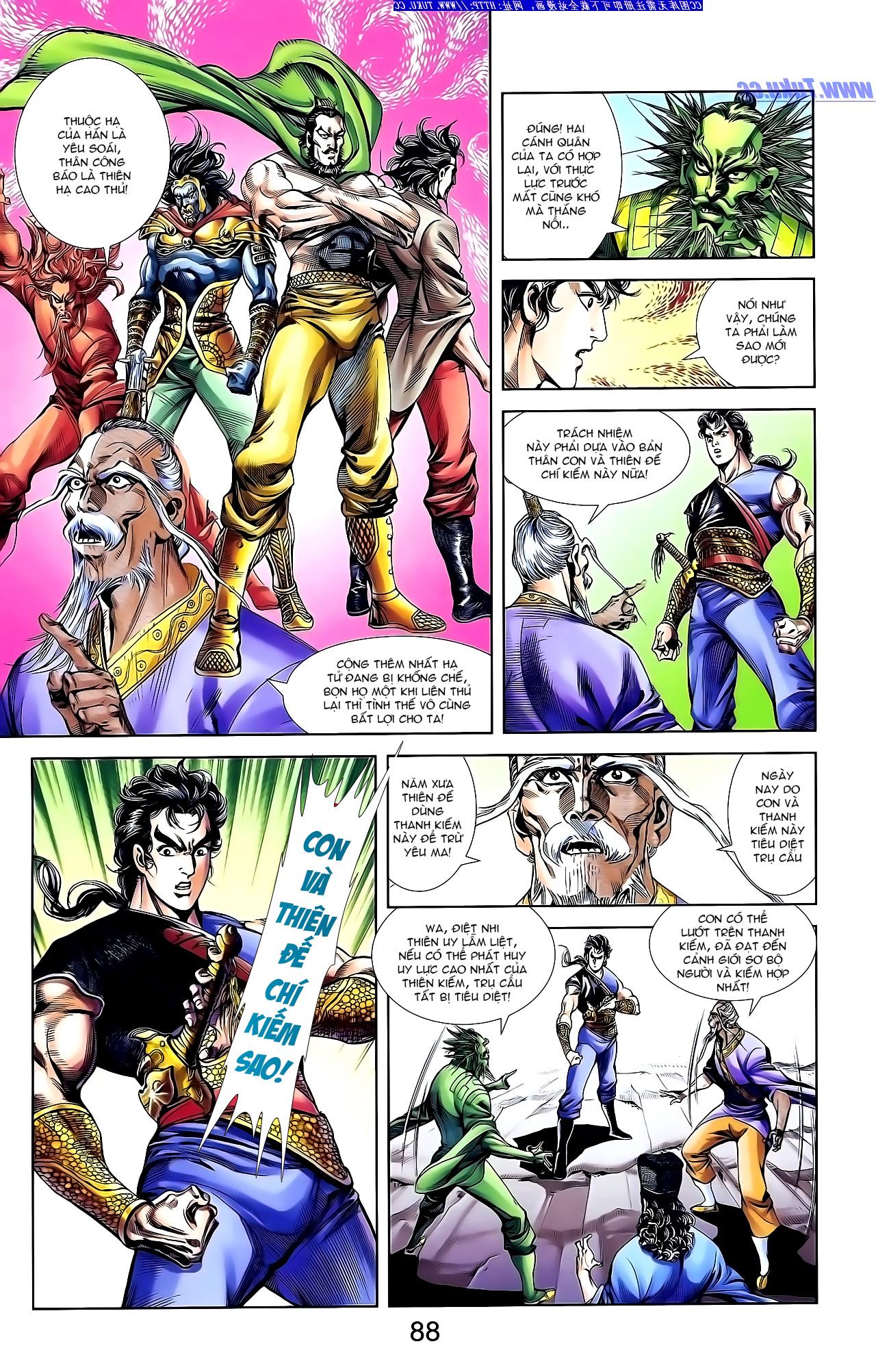 Cơ Phát Khai Chu Bản chapter 147 trang 18