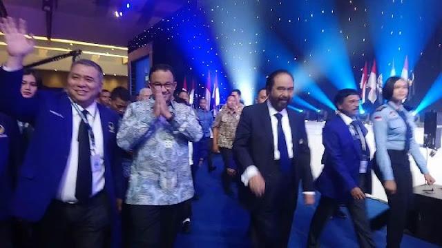 Tepuk Tangan Menggema di Kongres NasDem Saat Nama Anies Disebut
