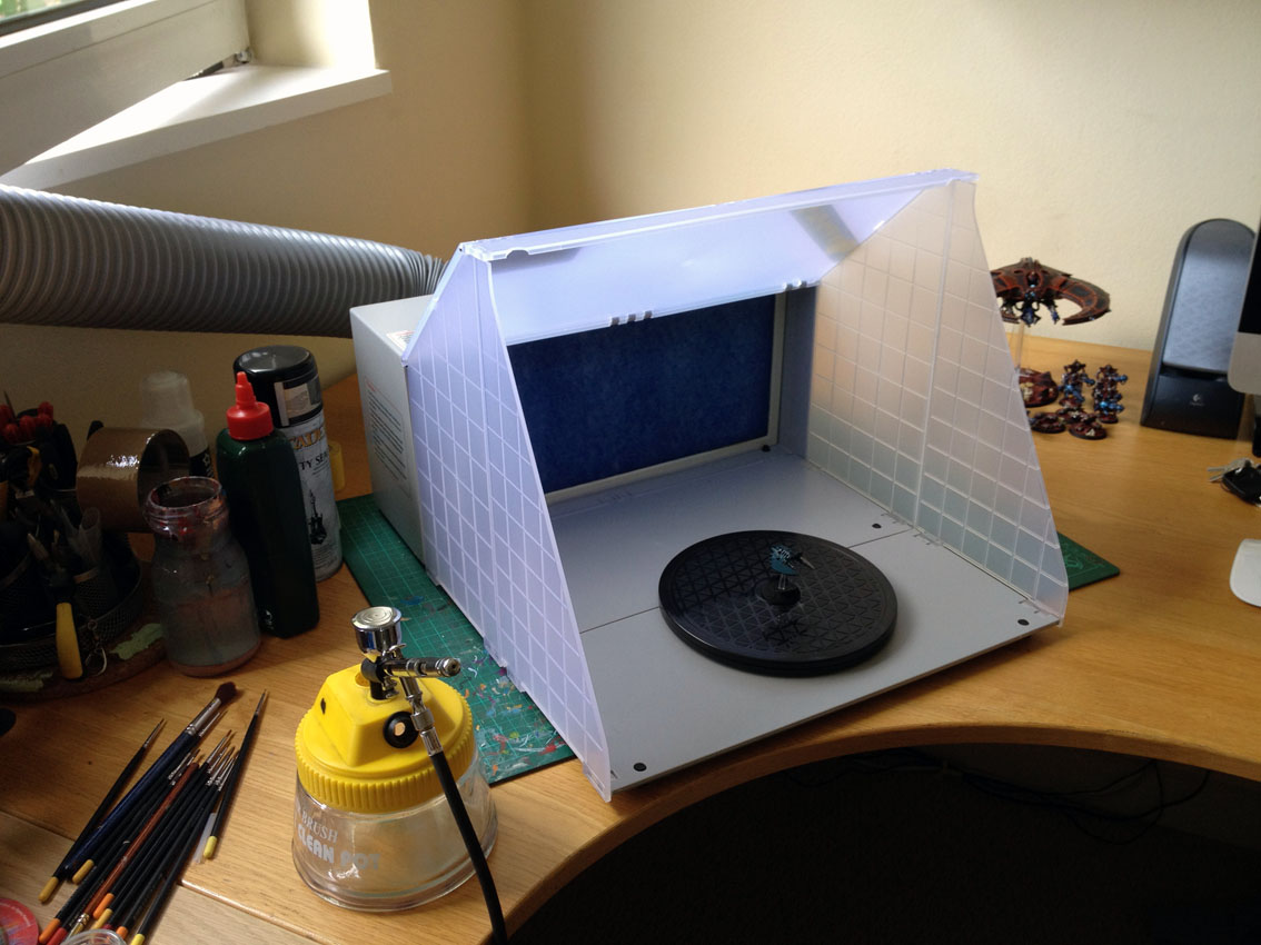 review portable airbrushing spray booth extractor e420 tale of