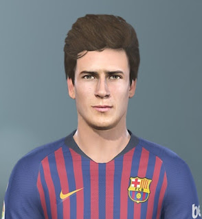 PES 2019 Faces Riqui Puig by Sofyan Andri