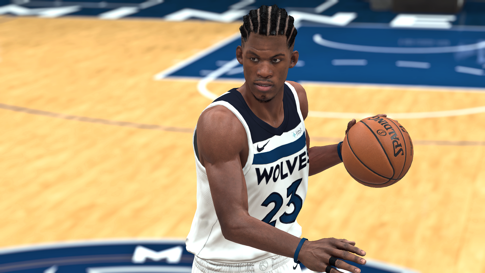 DNA Of Basketball | DNAOBB: NBA 2K18 Jimmy Butler Cyberface New Look by YG13