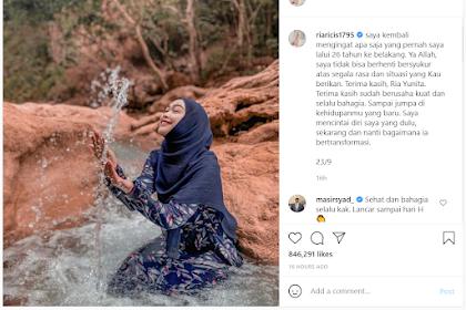 Biodata Lengkap Ria Ricis, Artis sekaligus YouTuber pasangan Teuku Ryan