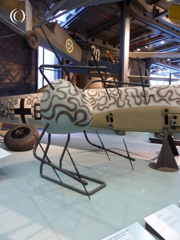 Junkers Ju 88 nose with Hirschgeweih antennas
