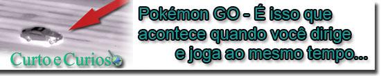 Pokémon GO - É isso que acontece quando você dirige e joga ao mesmo tempo...