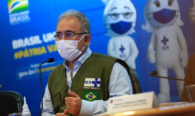 COVID-19: Brasil ultrapassa marca de 110 milhões de doses de vacinas aplicadas