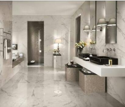 Marble Finished Bathrooms Naijamansionscom - Finished bathrooms