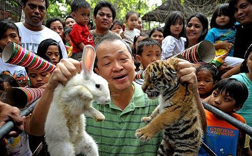 Malabon Zoo in the Philippines