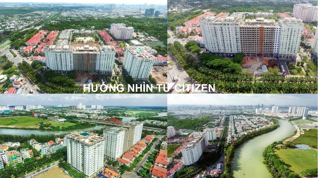 Hướng view căn hộ citizen ts trung sơn