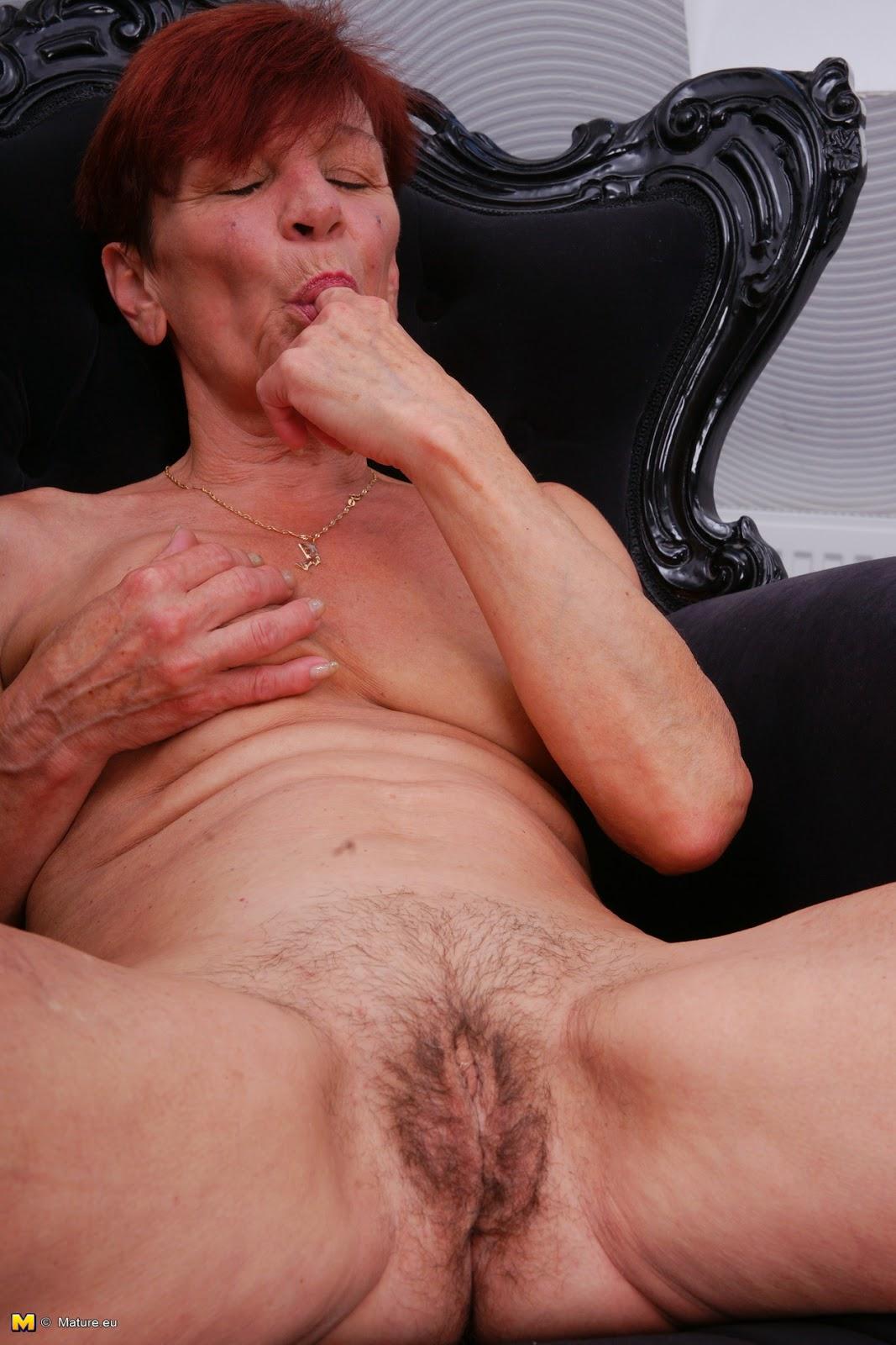 Old women masturbating