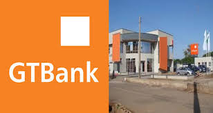 gtbank logo and branch